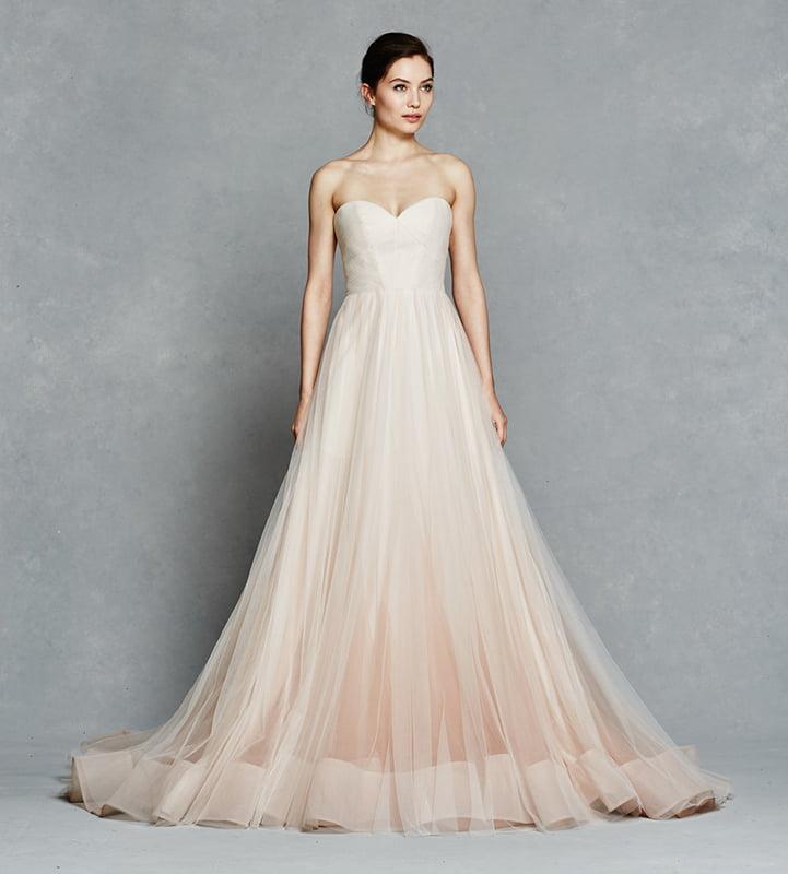 Unusual Wedding Dress - Blush Dress (Kelly Faetanini – Florence)
