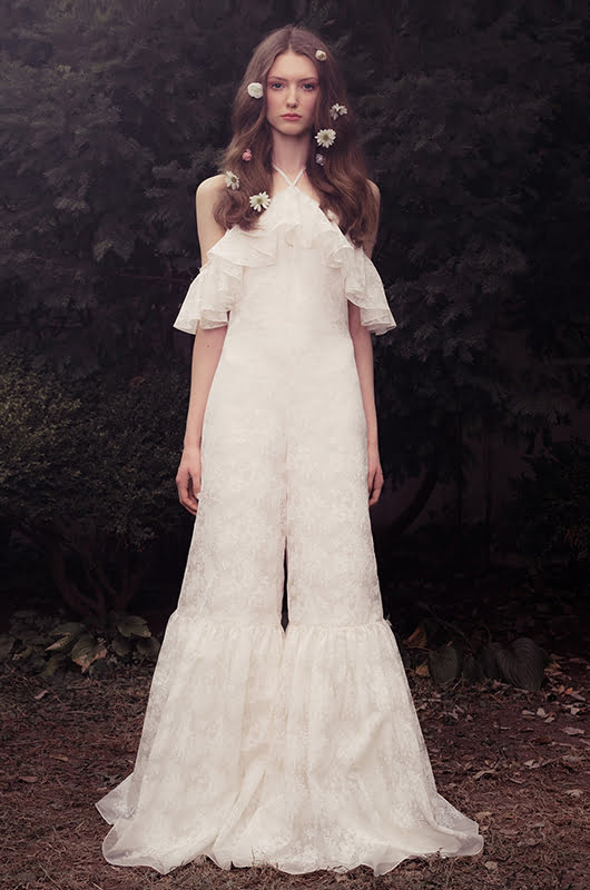 Unusual Wedding Dress - Boho Dress (Honor NYC – Look 7)