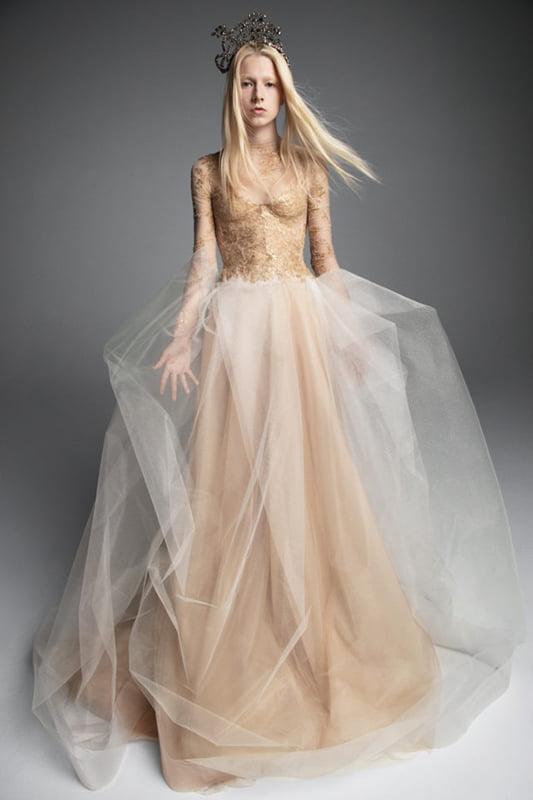 Unusual Wedding Dress - Princess Attire (Vera Wang – Maria Theresa)