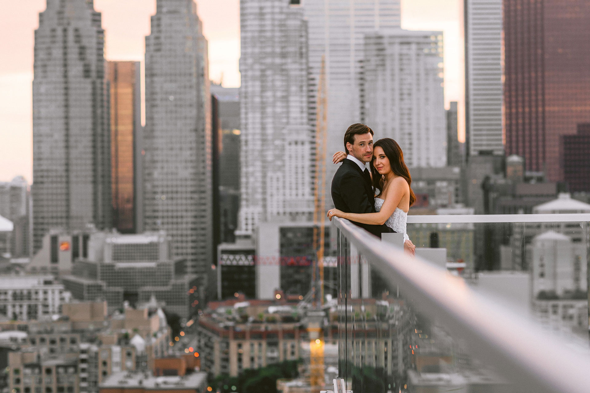 Globe and Mail Centre is one of the most Epic outdoor wedding venues in Toronto, Ontario