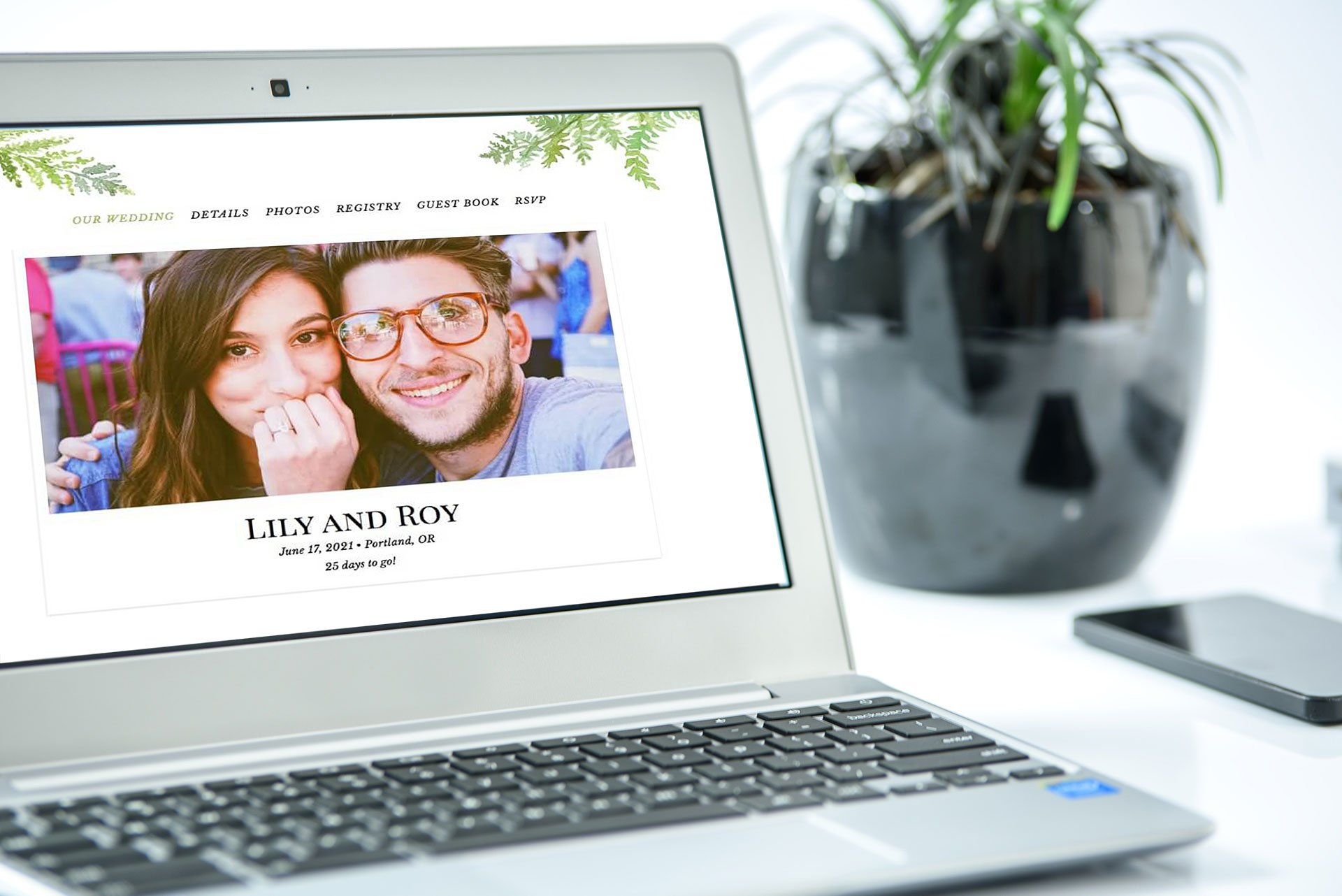 How to Build Your Wedding Website