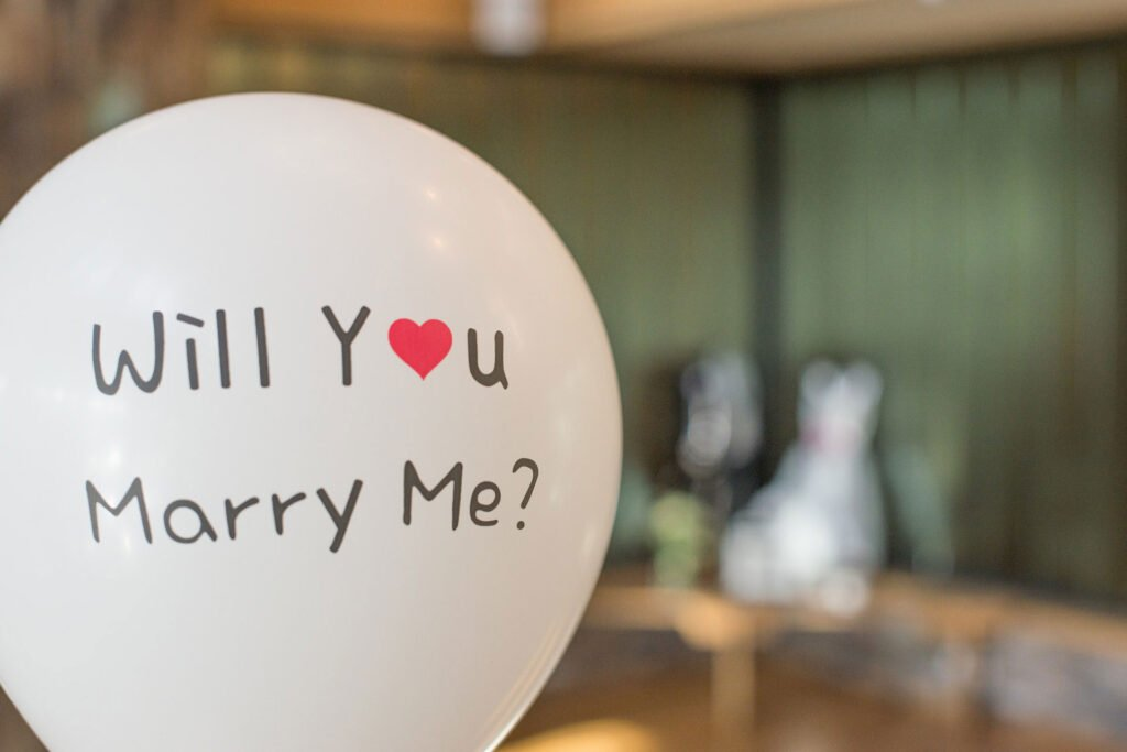 unique wedding proposal ideas