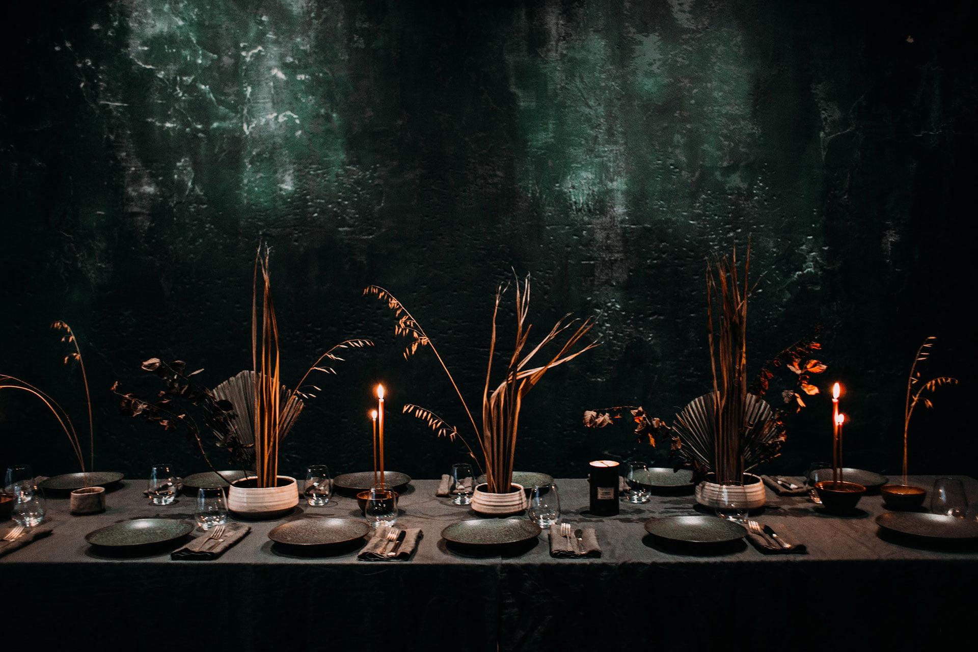 5 minimalist wedding décor ideas