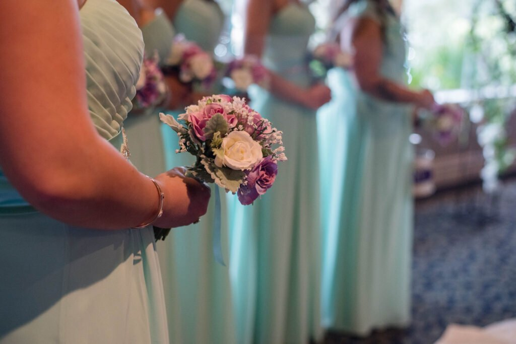 How To Alter a Bridesmaid Dress That Is Too Big