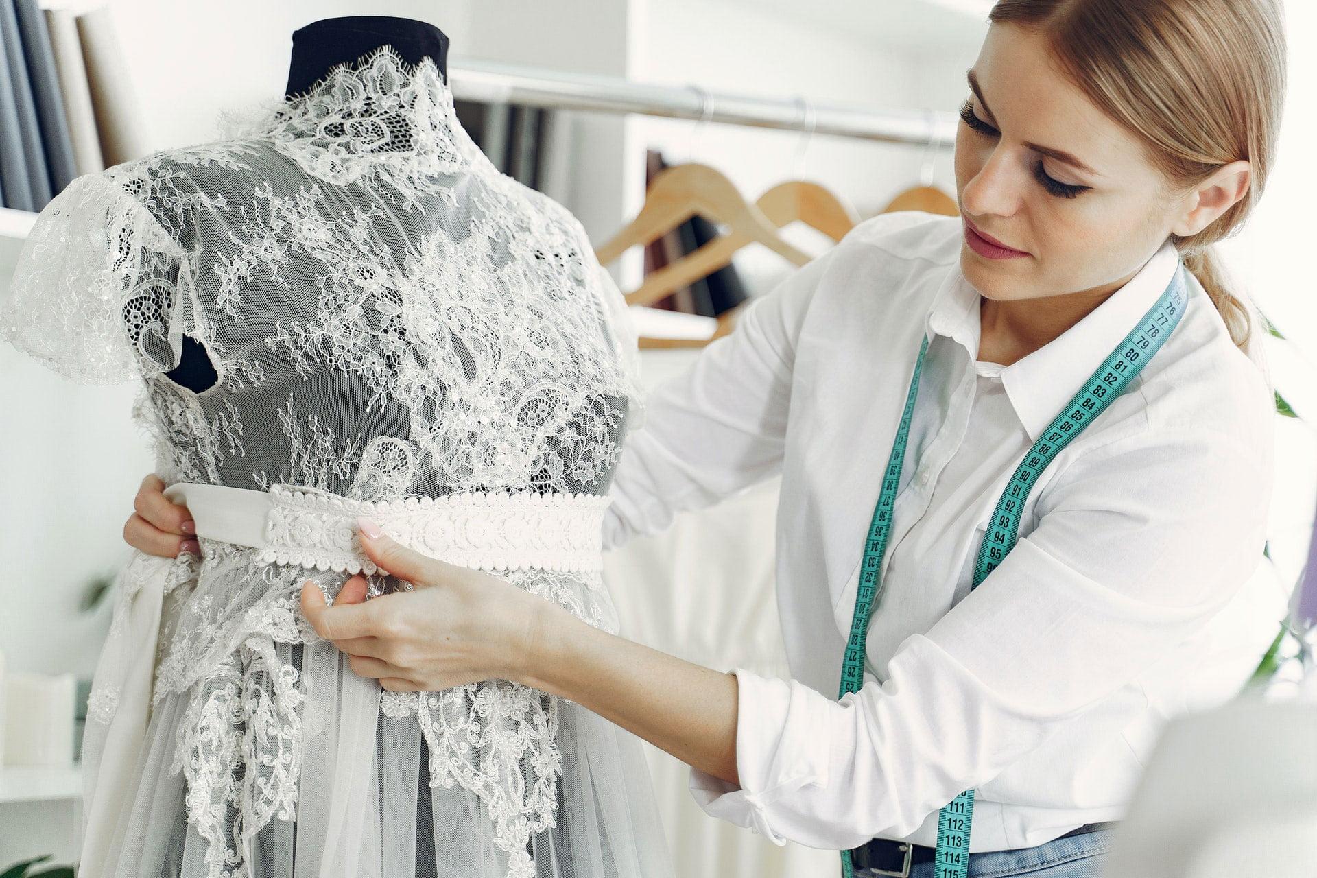 how do wedding dress alterations work