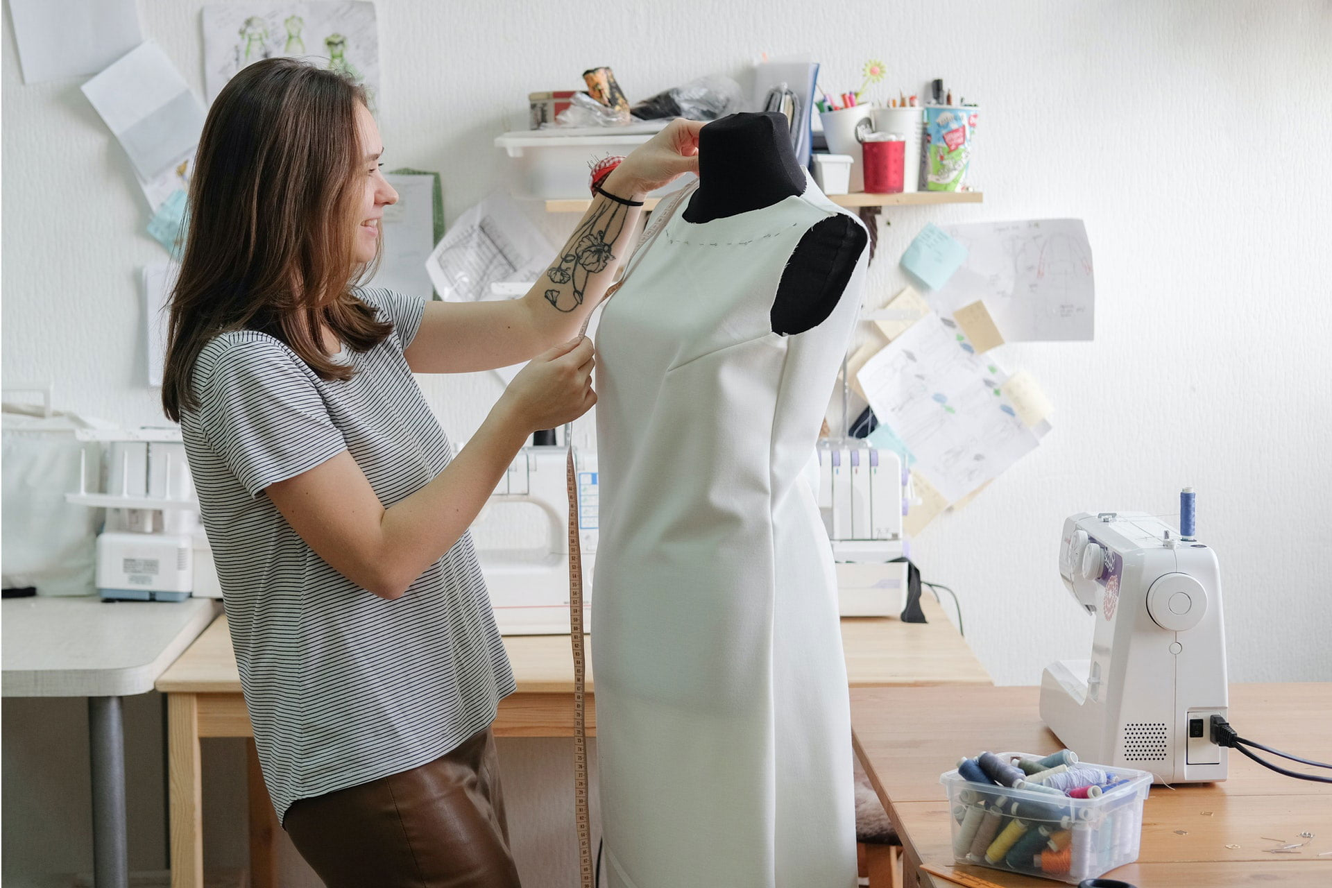How to Alter A Dress to Make It Bigger