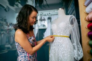 when should I have my wedding dress altered