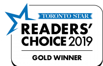 Readers Choice Award Gold winner